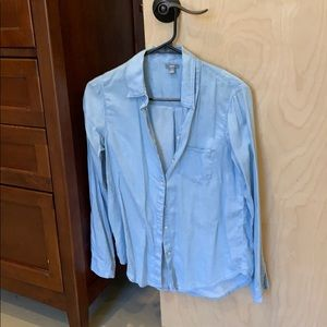 Aerie chambray button down